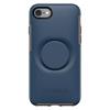 כיסוי Otterbox ל-iPhone 7/8 דגם Symmetry + POPsockets (כחול)