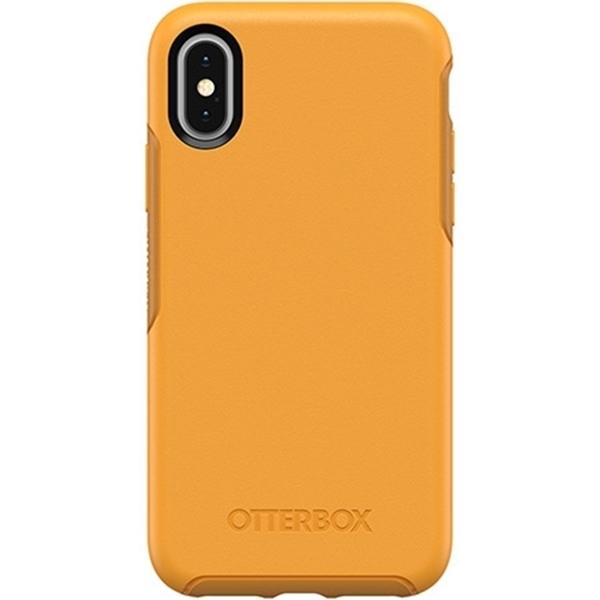 כיסוי Otterbox ל-iPhone XS דגם Symmetry (צהוב בוהק)