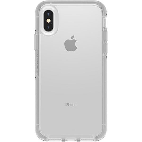 כיסוי Otterbox ל-iPhone XS דגם Symmetry (שקוף)