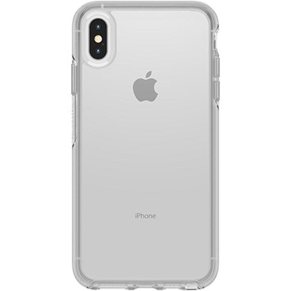 כיסוי Otterbox ל-iPhone  XS MAX דגם Symmetry (שקוף)