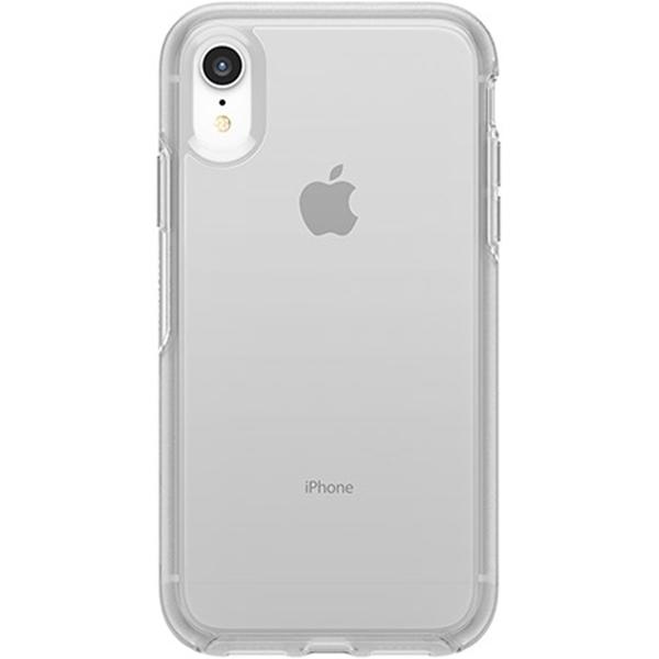 כיסוי Otterbox ל-iPhone  XR דגם Symmetry (שקוף)