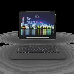 כיסוי ZAGG + מקלדת אנגלית/עברית עבור iPad Pro 11