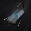 סוללת אלחוטית ניידת iWalk דגם UBA12000 (שחור)