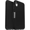 כיסוי otterbox ל-iPhone XR דגם Strada (שחור)
