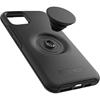 כיסוי Otterbox ל-iPhone 11 Pro Max דגם POPsocket (שחורׂ)