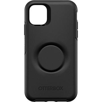 כיסוי Otterbox ל-iPhone 11 דגם POPsocket שחור