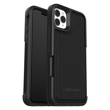 כיסוי Lifeproof ל-iPhone  11 Pro Max דגם Wallet (שחור)