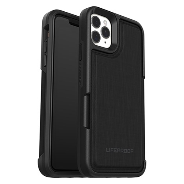 כיסוי Lifeproof ל-iPhone  11 Pro Max דגם Wallet (שחור)