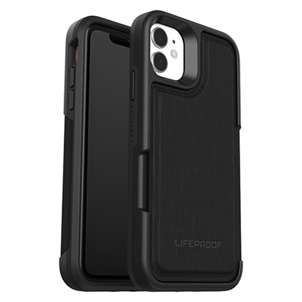 כיסוי Lifeproof ל-iPhone 11  דגם Wallet (שחור)
