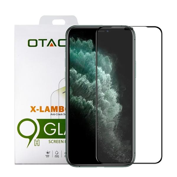 מגן זכוכית ל-OTAO iPhone 11 Pro Max דגם 2.5D (שחור)