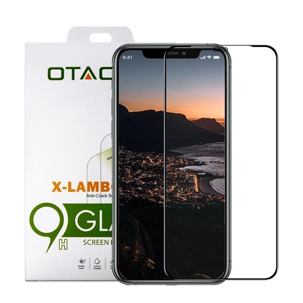 מגן זכוכית ל-OTAO  iPhone 11 Pro דגם 2.5D (שחור)