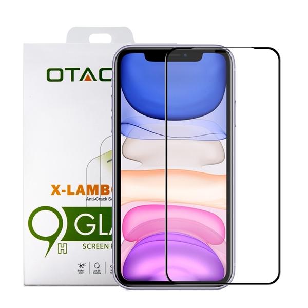 מגן מסך זכוכית ל-OTAO iPhone 11 דגם 2.5D (שחור)