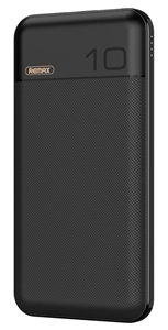 סוללה ניידת REMAX דגם QC 3.0+PD 10000mAh (שחור)