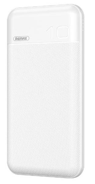 סוללה ניידת REMAX דגם QC 3.0+PD 10000mAh (לבן)
