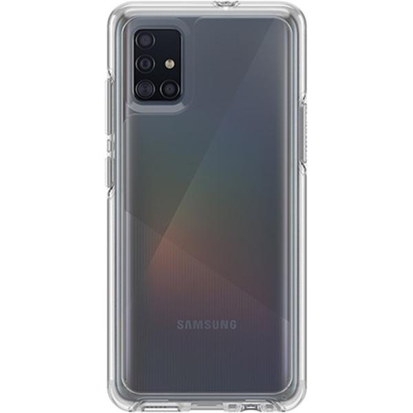 כיסוי Otterbox ל Galaxy A51 דגם Symmetry שקוף