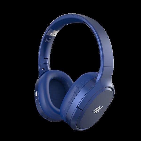 אוזניות iFrogz דגם Noise Canceling AIRTIME VIBE כחול