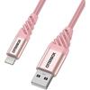 כבל  Otterbox Premium דגם USB A-Ligh 1m ורוד