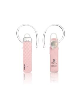 אוזניית BT אלחוטית כולל דיבורית Bluetooth דגם RB-T9 ורוד