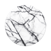 POPSOCKET דגם ABSTRACT Dove White Marble