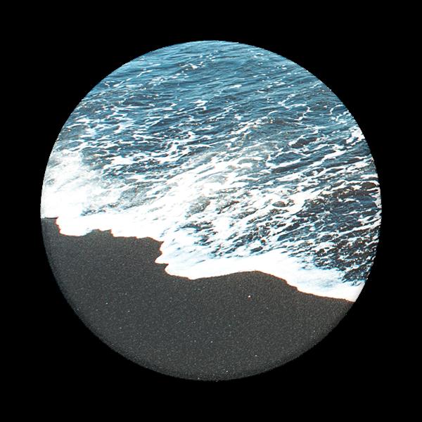 POPSOCKET דגם ABSTRACT Black Sand Beach