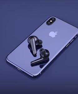 אוזניות Bluetooth_5 0 iWalk דגם BTA003 WireleCha
