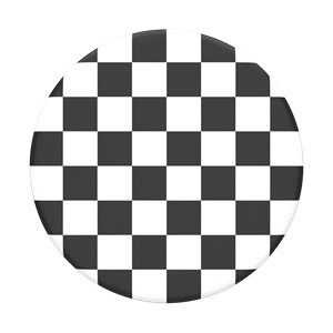 POPSOCKET דגם PATTERN Checker Black