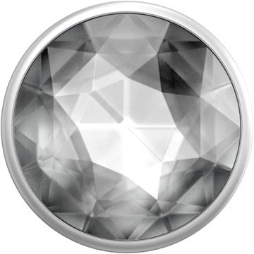 popsocket-דגם-sparkle-disco-crystal-silver