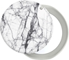 popsocket-דגם-mirror-dove-white-marble-gloss