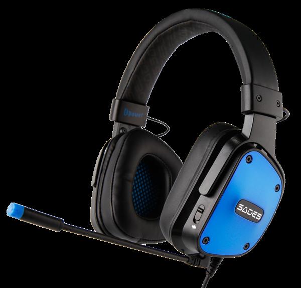אוזניות גיימיניג SADES דגם Dpower Stereo