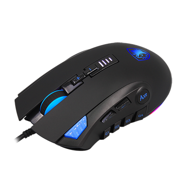 עכבר גיימיניג מקצועי SADES דגם Axe