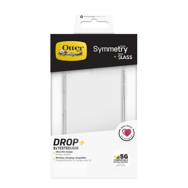 כיסוי Symmetry + מגן זכוכית Otterbox ל iPhone 12 PRO