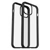 כיסוי Otterbox ל iPhone 12 Pro MAX דגם React שקוף/שחור