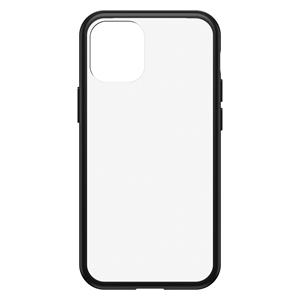 כיסוי Otterbox ל iPhone 12 mini דגם React שקוף/שחור