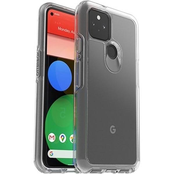 כיסוי-otterbox-ל-google-pixel-5-דגם-symmetry-שקוף