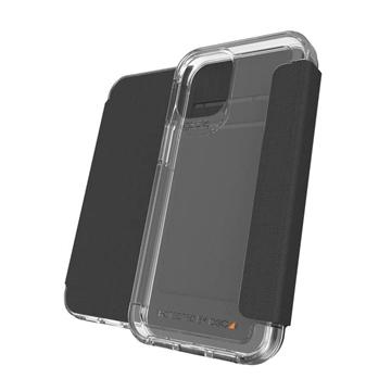 כיסוי GEAR4 ל iPhone 12 Mini דגם Wembley Flip שחור