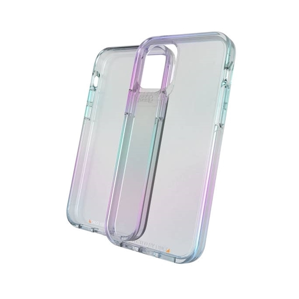 כיסוי GEAR4 ל iPhone 12 Mini דגם Crystal Palace ססגוני