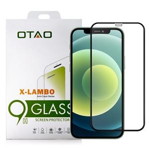 מגן זכוכית OTAO  iPhone 12 Mini דגם 2.5D שחור