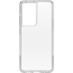 כיסוי Otterbox ל Galaxy S21 Ultra דגם Symmetry שקוף