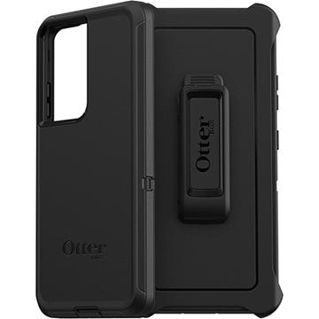 כיסוי Otterbox ל Galaxy S21 Ultra דגם Defender שחור