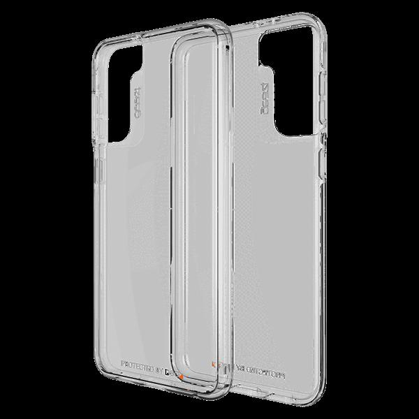 שקוף Crystal Palace דגם Galaxy S21 ל GEAR4 כיסוי