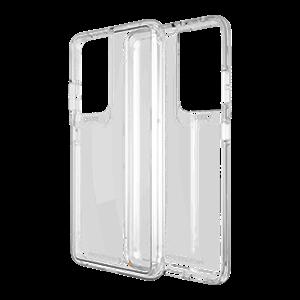 שקוף Crystal Palace דגם Galaxy S21 Ultra ל GEAR4 כיסוי