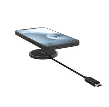 מטען אלחוטי אוניברסלי מגנטי Magsafe לאייפון 12 דגם  +snap
