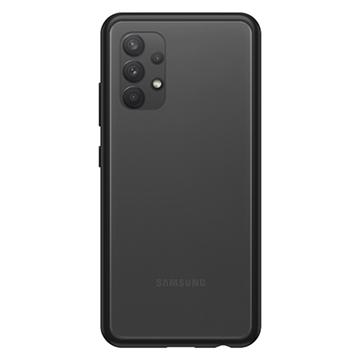 כיסוי Otterbox ל Galaxy A32 דגם React שקוף/שחור