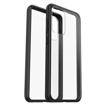 כיסוי Otterbox ל Galaxy A72 דגם React שקוף/שחור