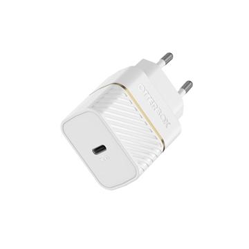 מטען בית Otterbox Premium דגם  USB-C 20W PD לבן