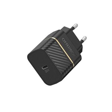 מטען בית Otterbox Premium דגם  USB-C 20W PD שחור