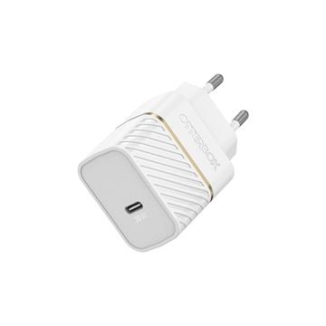 מטען בית Otterbox Premium דגם USB-C 30W לבן