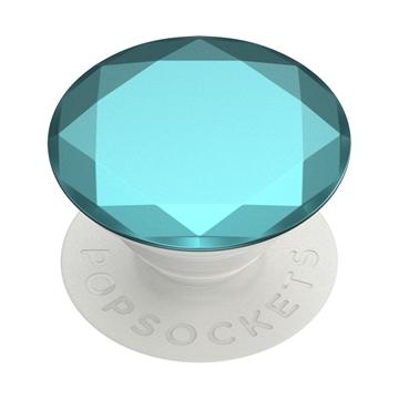 Popsocket דגם Metallic Diamond Aquarius Blue